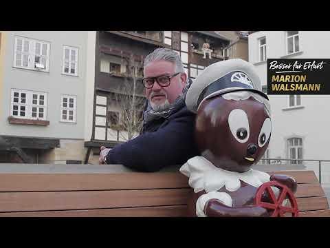 Hans Marcher unterstützt Marion Walsmann als OB-Kandidatin für Erfurt