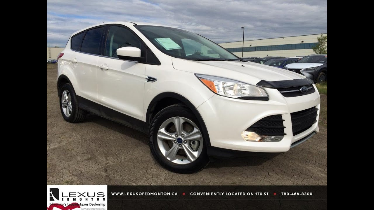 pre owned white 2013 ford escape 4wd se in depth review wainwright alberta youtube. Black Bedroom Furniture Sets. Home Design Ideas