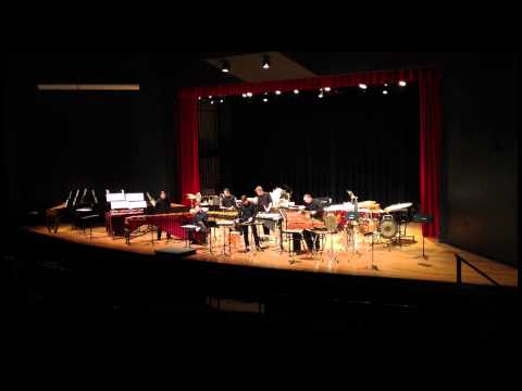 OSU Percussion Ensemble - Catching Shadows by Ivan Trevino