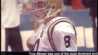 Troy Aikman UCLA highlights