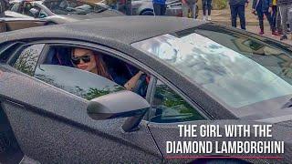 MEET THE GIRL WHO COVERED HER LAMBORGHINI IN DIAMONDS!