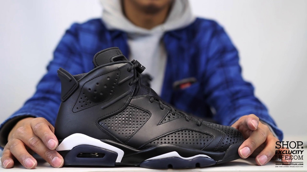 36c7e3df028a ... uk air jordan 6 retro black cat unboxing video at exclucity youtube  d9e61 068e1