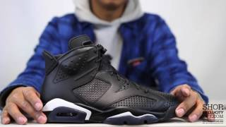 air jordan 6 retro black cat unboxing video at exclucity