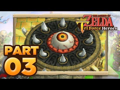The Legend of Zelda: Triforce Heroes - Part 03 (Co-op)