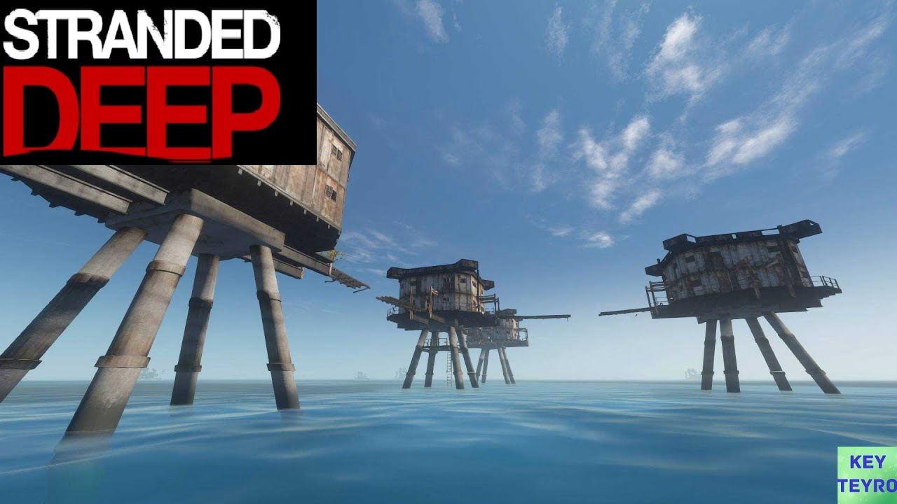 Stranded Deep Ps4 Gameplay German 25 Das Container Haus Deutsch Playstation 4 Youtube