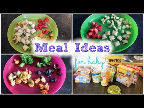 Meal Ideas For Baby! || MickIsAMom