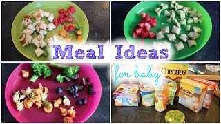 Repeat youtube video Meal Ideas For Baby! || MickIsAMom