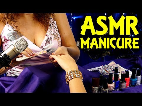 ♥ I Do Your Nails ♥ ASMR Manicure Spa Treatment Roleplay