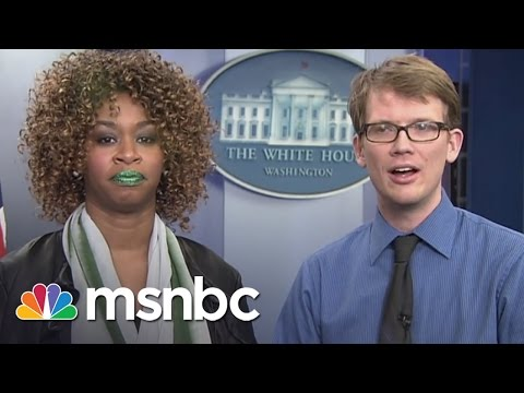 Glozell, Hank Green Discuss Obama Interview | msnbc