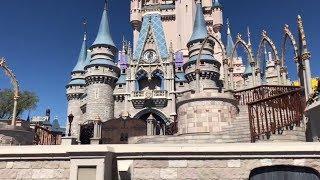 Magic Kingdom Castle Show 2018 Disney World Диснейленд Шоу Орландо 2018 Видео для детей Ваша Алиса