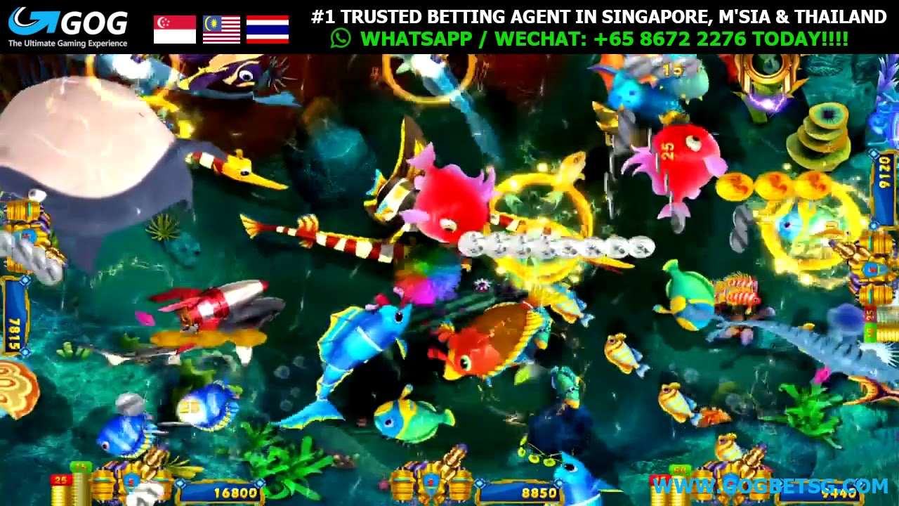 In This Article We Will Show You How To Play The Fish Shot Machine The Techniques And Tricks That Have Been Drawn Fro Shooting Games Fishing Game Slots Games