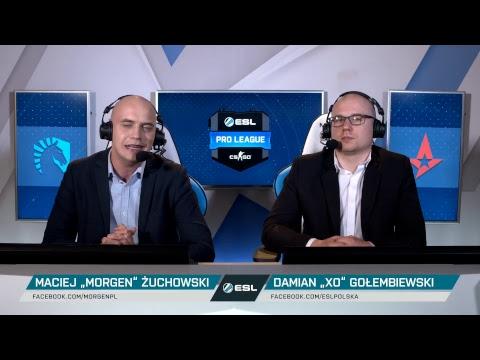 Wielki finał ESL Pro League S7 - Liquid vs Astralis NA ŻYWO