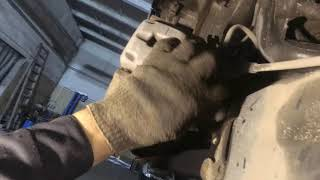 VW. Jetta. Замена стойки заднего стабилизатора.