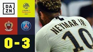 Neymar trifft doppelt und baut Tuchels Serie aus: OGC Nizza - PSG 0:3 | Ligue 1 | DAZN