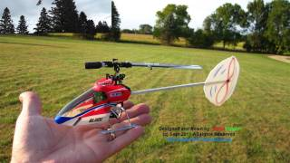 MCPx Flybarless CP Heli converted to Single (1) Blade, No Tail Rotor and is the first of it's kind!