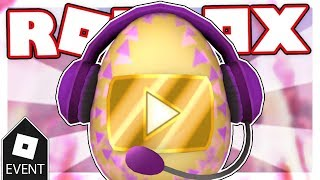 [EVENT] HOW TO GET THE VIDEO STAR EGG | Roblox