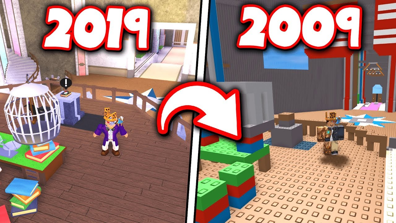 Classic Mario Shirt Roblox Playing Classic Versions Of New Roblox Games 2019 To 2009 Youtube