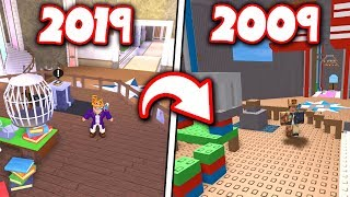Playing CLASSIC versions of NEW Roblox games?! *2019 to 2009!*