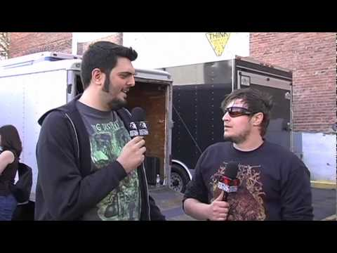 THE TONY DANZA TAP DANCE EXTRAVAGANZA Interview at NEMHF 2010 on Metal Injection
