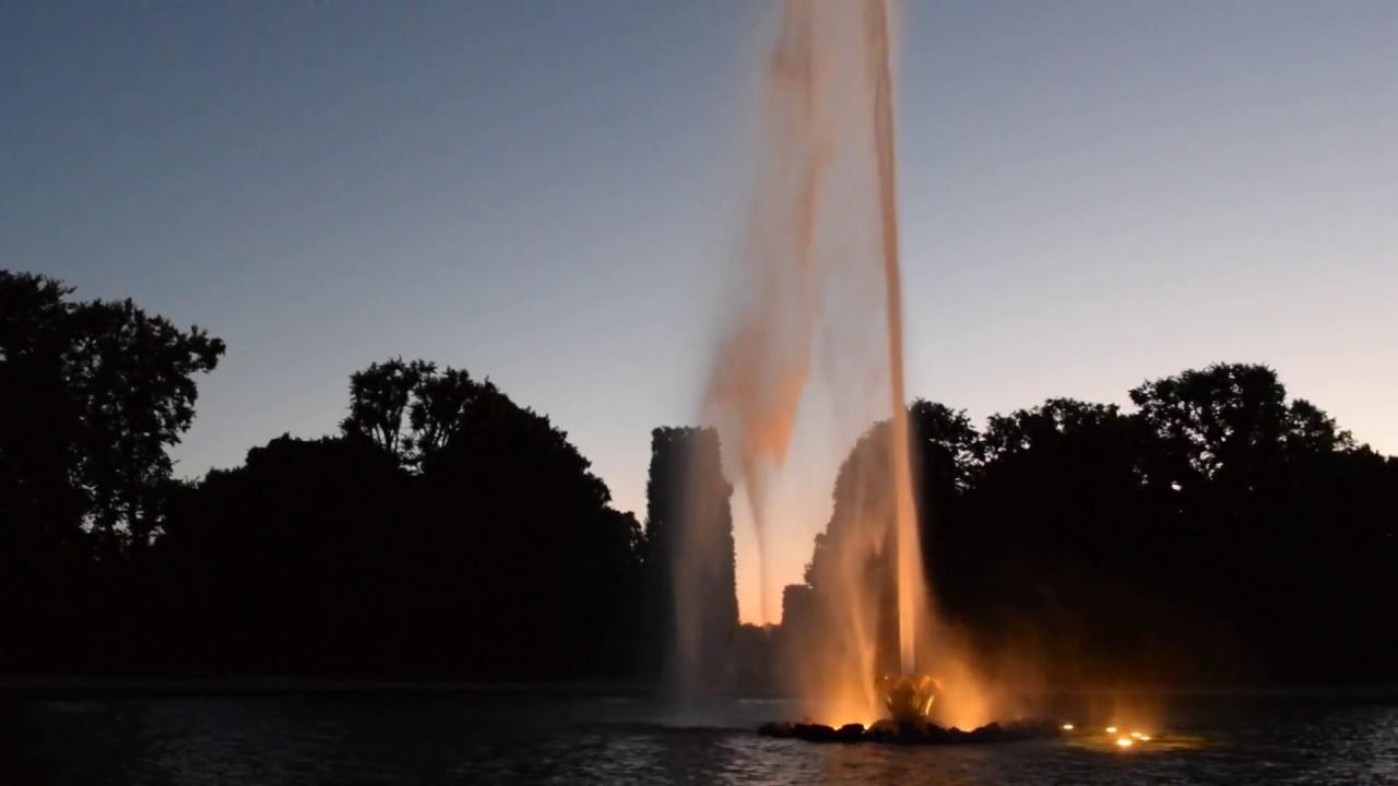 Illumination Im Großen Garten Herrenhausen Youtube