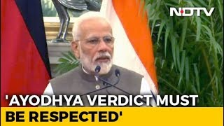 Ayodhya Case: Avoid Unnecessary Statements On Ayodhya, PM Tells Ministers: Report
