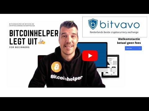 Gratis registreren bij Bitvavo | Bitcoin kopen bij Bitvavo handleiding & uitleg