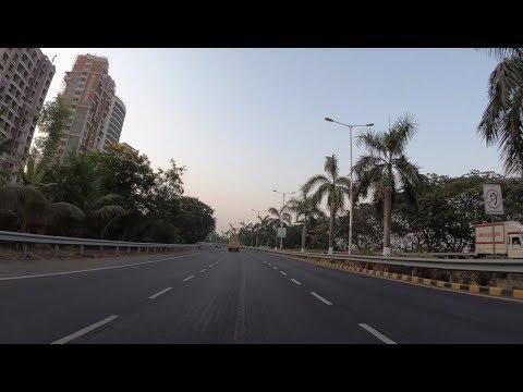 4K Morning Drive on Palm Beach Rd | Navi Mumbai, IN