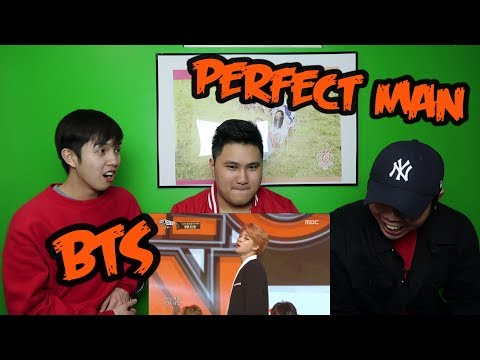 BTS - PERFECT MAN REACTION (FUNNY FANBOYS)