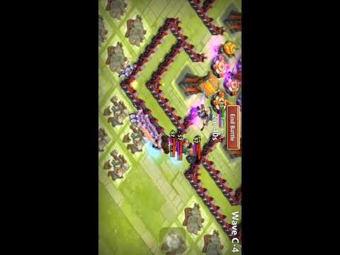 Castle Clash Best Defense For Town Hall Level 13