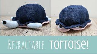 Retractable Toy Tortoise