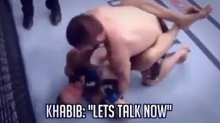 WHAT KHABIB ACTUALLY SAID TO CONOR IN THE FIGHT REVEALED