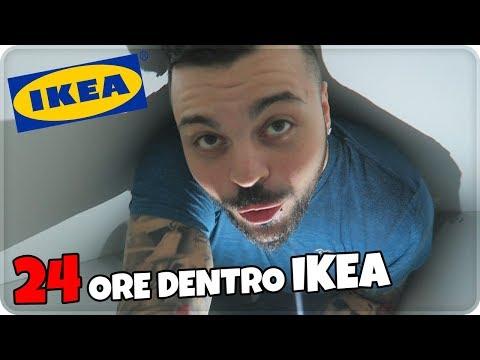 PASSO 24 ORE DENTRO IKEA ! 'EPICO' NON è UNO SCHERZO.