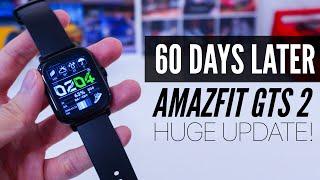 Amazfit GTS 2 Long Term Review: HUGE UPDATE!