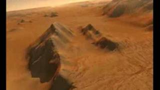 Traces of Martian life: Valles Marineris