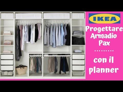 Armadio Guardaroba Ikea Pax.Ikea Come Progettare Un Armadio Pax Con Il Planner Barbara Easy Life Youtube