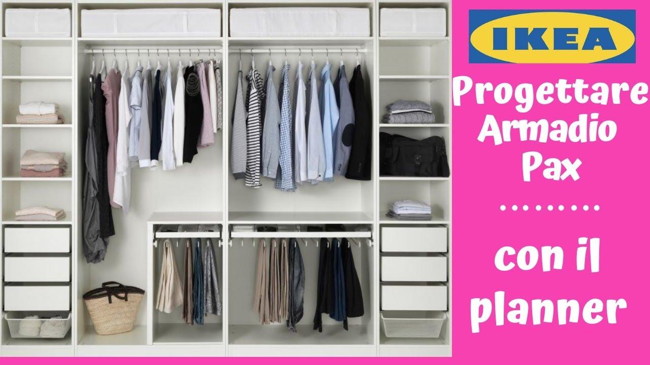 Armadio Angolare Con Cabina Ikea.Ikea Come Progettare Un Armadio Pax Con Il Planner Barbara Easy Life Youtube