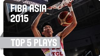 Top 5 plays - Final - 2015 FIBA Asia Championship