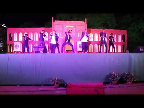 The American College|136th College Day|Set work&performance by viscom Dept|mimicry&dance performance