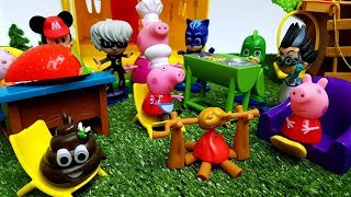 Peppa Pig Episodes - NEW Friends Dottoressa PELUCHE PJ MASKS Super Pigiamini Italiano episodi