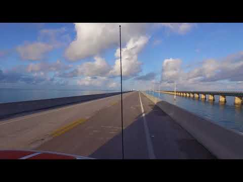 Drive from Key Largo to Big Pine Key!  you must see this Destruction