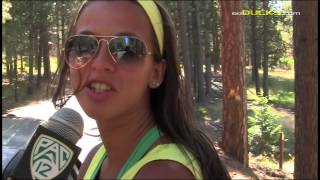 Oregon Women\'s Basketball Black Butte Team Retreat