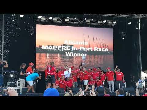 In Port race Alicante 14.10.17