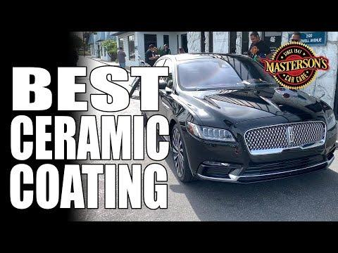 Best Ceramic Coating For Black Cars - Masterson's Car Care