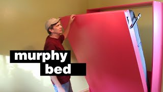 How To Build A Murphy Bed. Free Up Floor Space In Your Home!