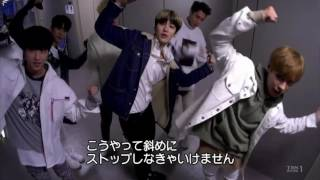 eng sub knk with bap zelo behind the show 170115