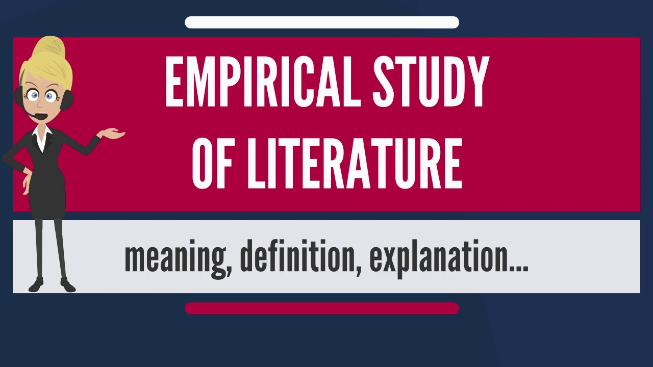 emprical study Empirical research is research using empirical evidence it is a way of gaining knowledge by means of direct and indirect observation or experience empiricism values such research more than other kinds empirical evidence (the record of one's direct observations or experiences.