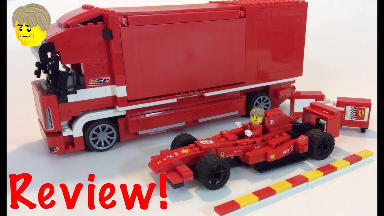 lego ferrari truck set 8185 review youtube. Black Bedroom Furniture Sets. Home Design Ideas