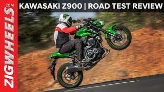 2017 Kawasaki Z900 | Road Test Review | Zigwheels.com