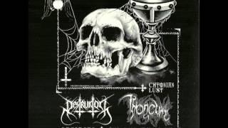 """Destruktor / Throneum """"A Prophecy of Nihilism"""" (2014)"""