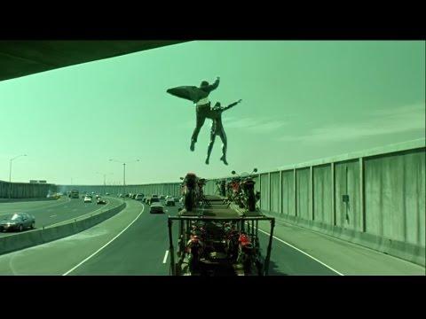 Download The Matrix Reloaded - Bike Chase Scene - Full HD